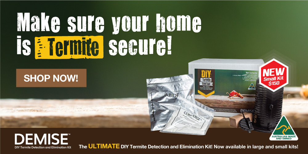 DIY Termite Elimination & Detection Kit